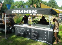 Homemade pizza foodtruck – Groos Streetfood