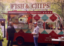 ANTON'S MEALS ON WHEELS – FISH & CHIPS FOODTRUCK