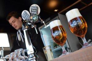 Biertruck bier van de tap