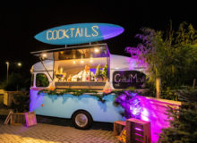 Mobiele cocktailbar – De Cocktail Caravan