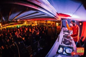 Mobiele DJ Booth van Afternoon Delight