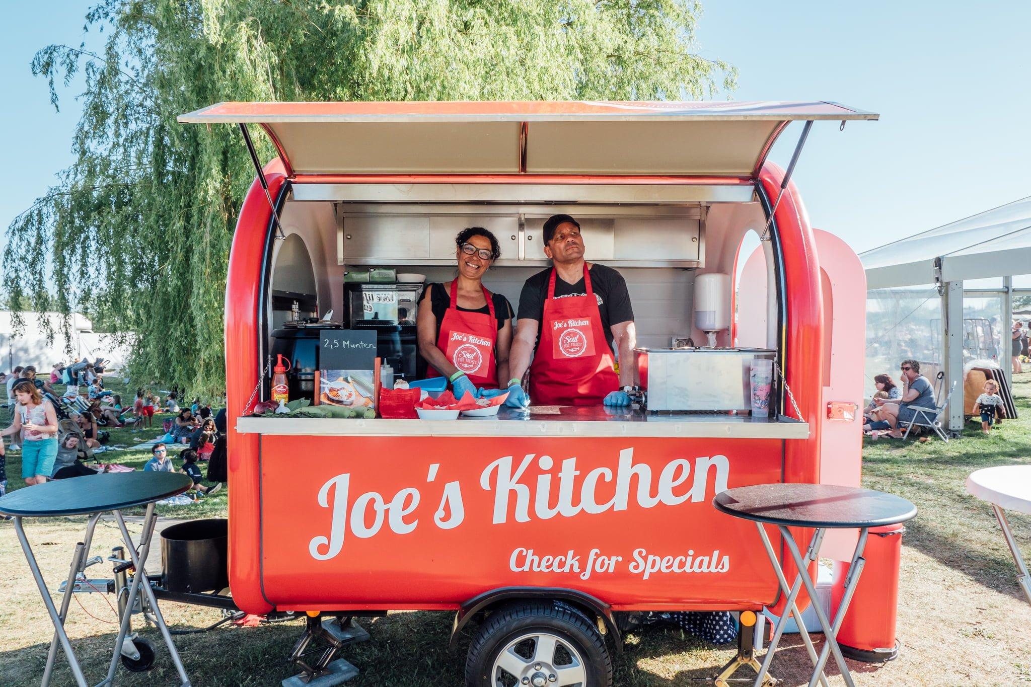 Joe's Kitchen - Wereldse Wagens