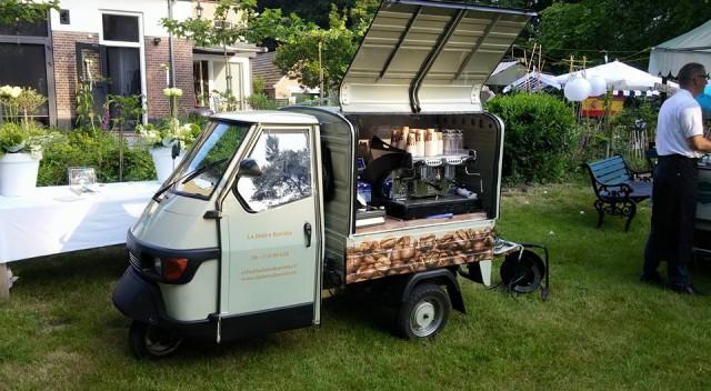 Italiaanse koffie foodtruck – La Dolce Barista