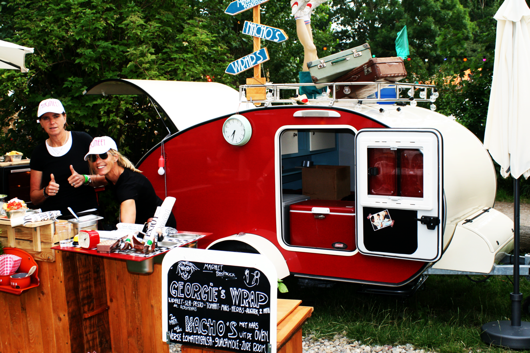 Streetfood Foodtruck - Magneet