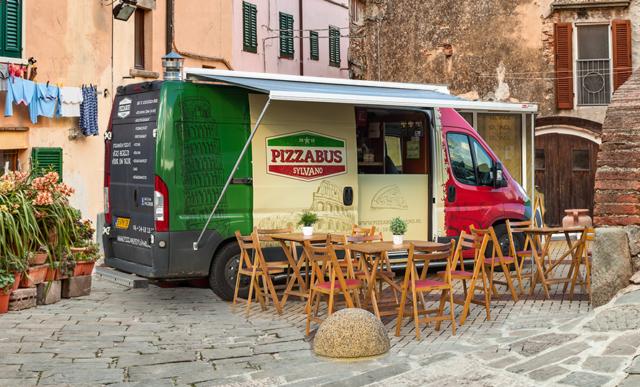 Pizza Foodtruck – Pizzabus Sylvano