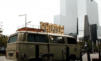 Foodtrucks bij bedrijfsopening van Premier Suites Hotel Rotterdam