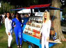 Punt Lekker – Mobiele borrel foodtruck