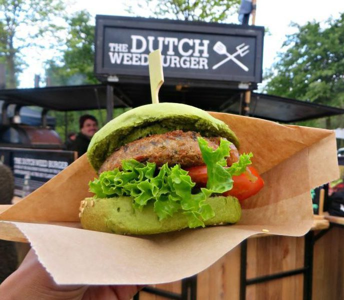 The Dutch Weed Burger