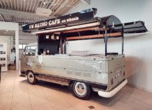 Café foodtruck – VW Retro café