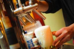 bier uit de tap