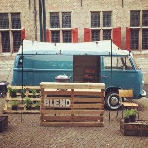 Blend bus vintage foodtruck