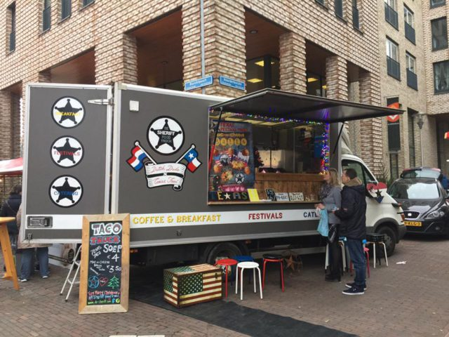 De Sheriff food truck – Tex-Mex style