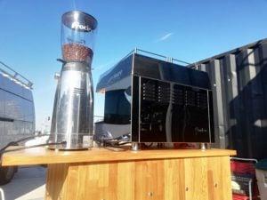Mobiele espresso bar