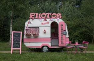 Foodtruck voor je verjaardag voorbeeld Caravan Betsie
