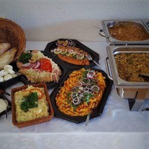 Diverse side dishes van De Gelegenheid