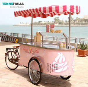 ice tricycle foodfiets