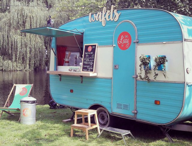Ons Lucy – IJs & Wafel Foodtruck