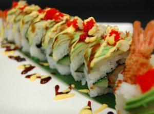 PachaMama on Wheels sushi roll