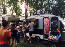 Foto caravan foodtruck – Pop-up Booth