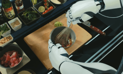 De robot chef: is 'the next iron chef' een robot?