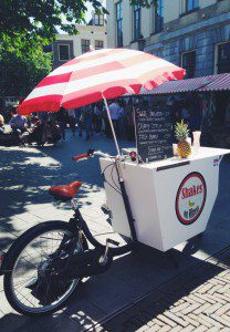 shakes on wheels food fiets