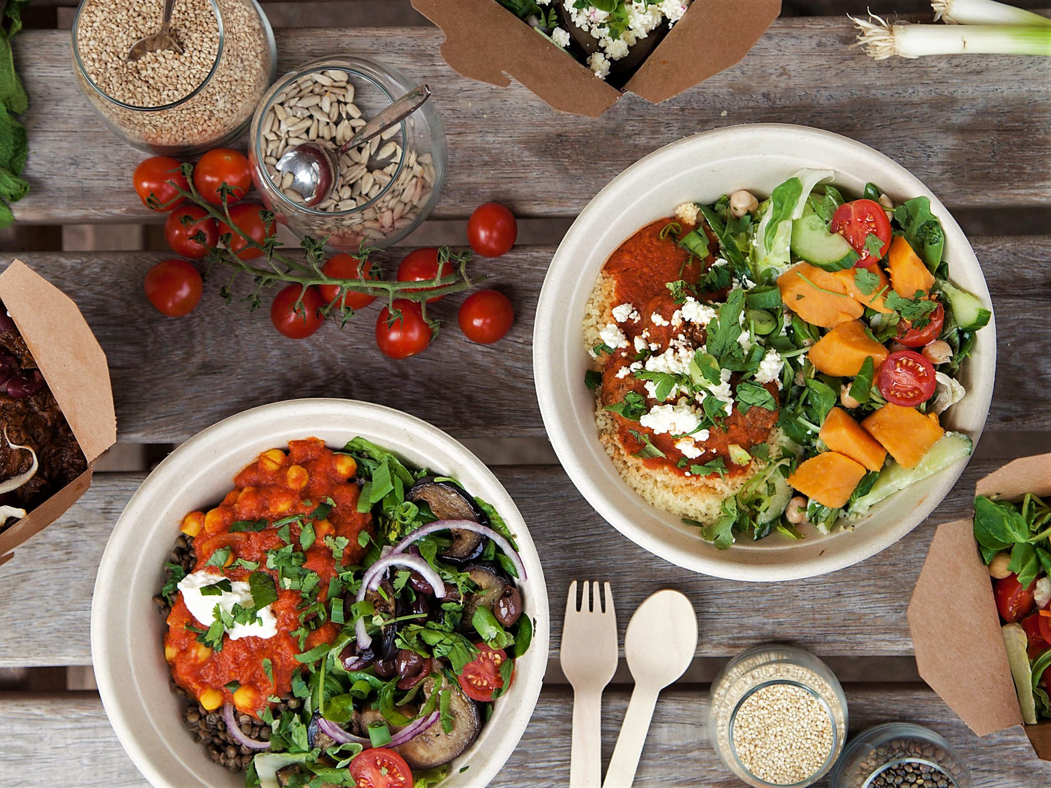 stewart & sally stoof en saladebar